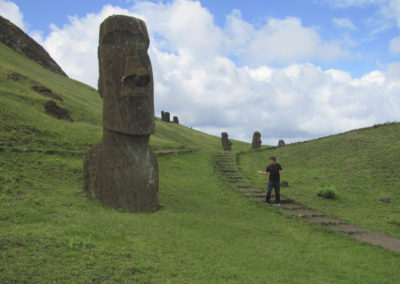 Danny Dover Exploring Easter Island